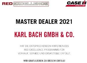 Case IH Auszeichnung   /   Master Dealer 2021