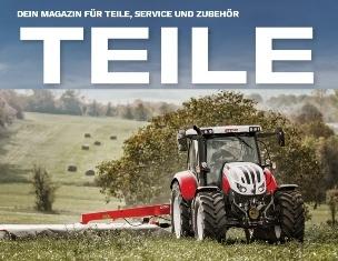 Case IH und Steyr Online-Magazine